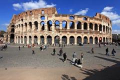 Colosseum, Rome, Italië stock afbeelding
