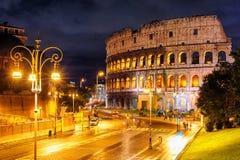 Colosseum, Rome, Italië Royalty-vrije Stock Foto's