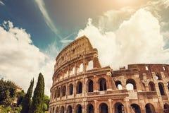 Colosseum in Rome, Italië royalty-vrije stock fotografie