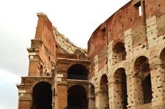 Colosseum in Rome, Italië, Europa Rome is een oude arena van gladiatorengevecht Roman Colosseum is het beroemdste oriëntatiepunt stock fotografie