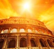 Colosseum (Rome, Italië) Stock Afbeeldingen