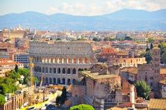 Colosseum, Rome Italië Royalty-vrije Stock Afbeeldingen