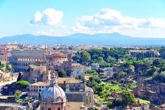 Colosseum, Rome Italië Royalty-vrije Stock Foto's