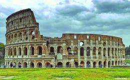 Colosseum in Rome, Itali? Oud Roman Colosseum is ??n van de belangrijkste toeristische attracties in Europa stock afbeeldingen
