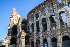 The Colosseum, Rome stock images