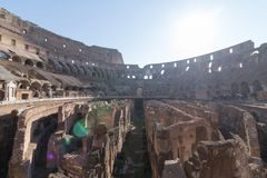 The Colosseum in Rome. Italy Stock Photo