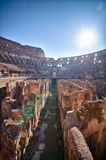 The Colosseum in Rome. Italy royalty free stock photography