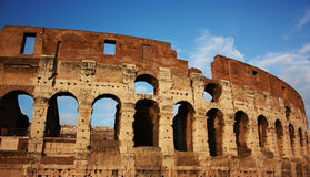 The Colosseum, Rome, Italy. The mighty Colosseum in Rome Stock Photo
