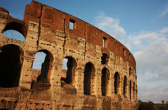 The Colosseum, Rome, Italy. The mighty Colosseum in Rome Royalty Free Stock Photos