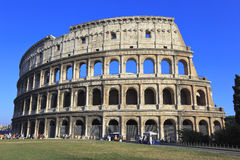 The Colosseum in Rome, Italy. The Colosseum, the world famous landmark in Rome Royalty Free Stock Photo