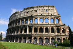 Colosseum at rome italy Royalty Free Stock Photos