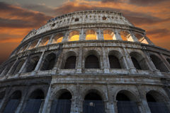 The Colosseum, Rome, Italy. Royalty Free Stock Photos