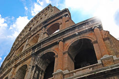 The Colosseum in Rome Italy Royalty Free Stock Images