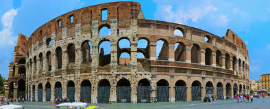 Colosseum in Rome Italy Stock Image