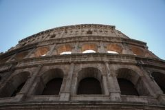 Colosseum, Rome Italy. Royalty Free Stock Photo