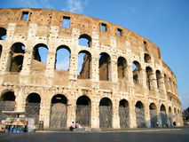 Colosseum in Rome, Italy. The Colosseum (Colosseo) in Rome, Italy Stock Photos