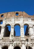 Colosseum of Rome (Italy). Some bleachers of the colosseum of Rome (Italy Stock Photo