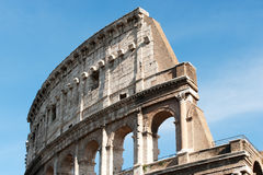 The Colosseum in Rome Italy Royalty Free Stock Photography
