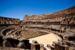 The Colosseum in Rome, Italy royalty free stock images