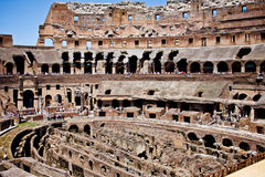 The Colosseum in Rome, Italy Stock Image