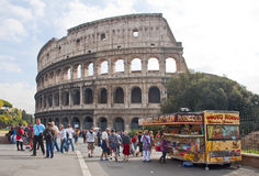Colosseum in Rome,Italy Royalty Free Stock Photos