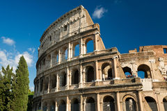 Colosseum in Rome, Italy. Colosseum in Rome in the summer, Italy Stock Photos