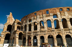 Colosseum in Rome, Italy. Ruin of Colosseum in Rome, Italy Royalty Free Stock Photos