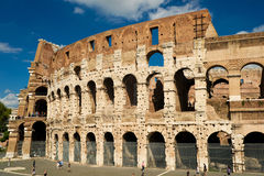 Colosseum in Rome, Italy. Ruin of Colosseum in Rome, Italy Stock Photography