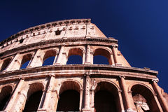 Colosseum in Rome, Italy. Famous ancient Colosseum (Coliseum) building, Rome, Italy Stock Photo