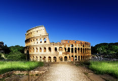 Colosseum in Rome, Italy Stock Photos
