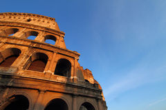 The Colosseum in Rome Stock Photos