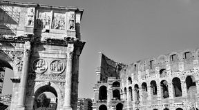 Colosseum of Rome, Italy Stock Photo
