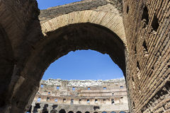 Colosseum in Rome, Italy. Colosseum in Rome in Italy Royalty Free Stock Images