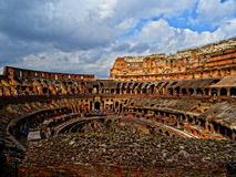 The Colosseum in Rome, Italy.  stock images