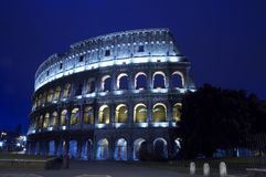 Colosseum in Rome Italy Stock Images