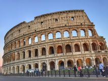 Colosseum rome Italy. The Colosseum at rome Stock Image