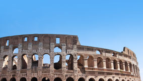 Colosseum in Rome, Italy. Ancient Colosseum in Rome, Italy Royalty Free Stock Photos