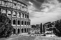 Colosseum in Rome, Italy Stock Image
