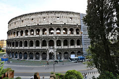 The Colosseum in Rome, Italy Stock Images