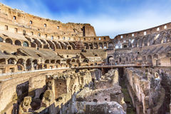 Colosseum Amphitheatre Imperial Rome Italy Stock Image
