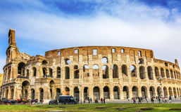 Colosseum Amphitheatre Imperial Rome Italy Stock Images