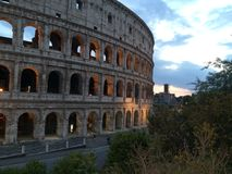 Colosseum. Rome Italy city gladiator Stock Image