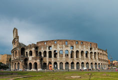 The Colosseum in Rome, Italy. The Colosseum is an amphitheatre i Stock Photos