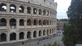 The Colosseum in Rome, Italy. The Colosseum or Coliseum, also known as the Flavian Amphitheatre in the city of Rome, Italy Royalty Free Stock Photo