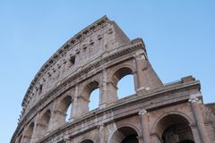 The Colosseum in Rome. Italy Stock Photos