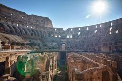 The Colosseum in Rome. Italy Royalty Free Stock Image