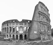 Colosseum in Rome. Royalty Free Stock Photos