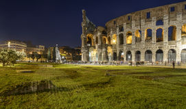 The colosseum rome italy europe stock images