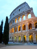 Colosseum, Rome, Italy. Colosseum in the evening, Rome, Italy Stock Image
