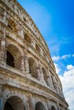 Colosseum, Rome, Italy. Exterior of the Colosseum, Rome, Italy Royalty Free Stock Photo